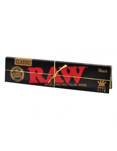 Paquet de feuilles - Raw Black x 1