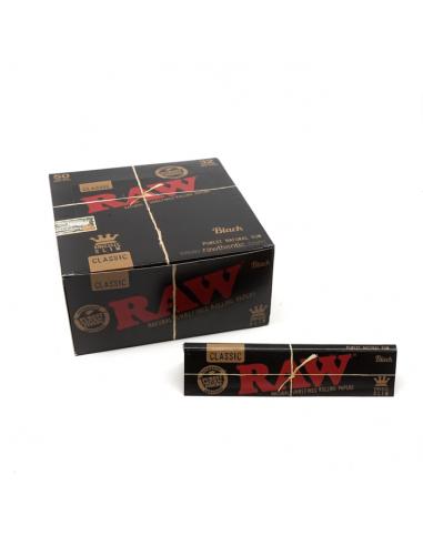 Paquet de feuilles - Raw Black Pack...