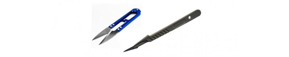 Ciseaux et scalpels